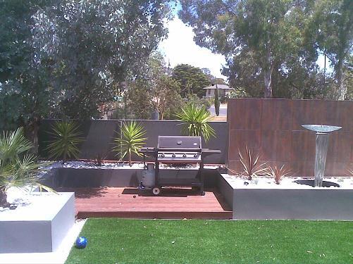 Grey Tropical Plants 02