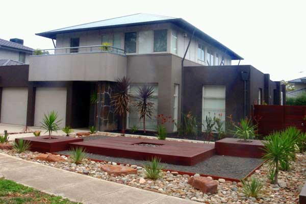 Landscape architects landscape designers in melbourne for Front garden design ideas melbourne